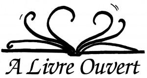 logo à livre-ouvert
