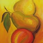 Fruits d'automne 30x60