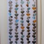 Coeurs bord de mer 20x50